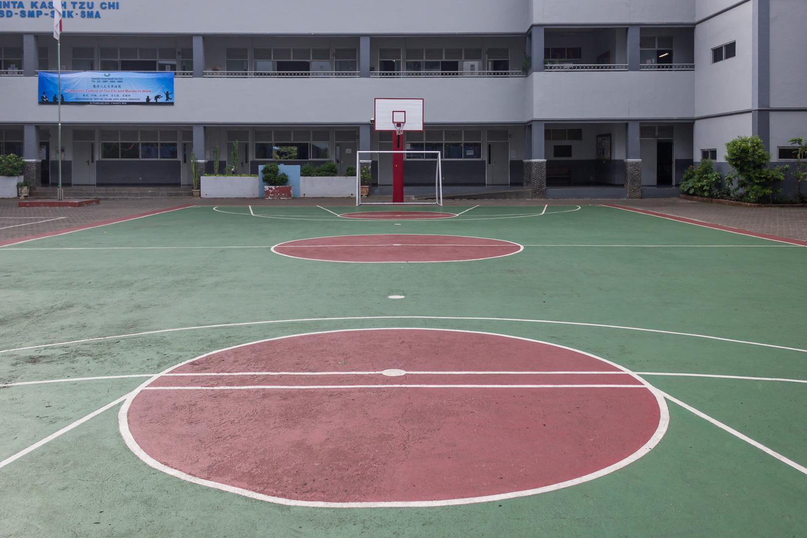 Lapangan Bermain Sekolah Cinta Kasih Tzu Chi
