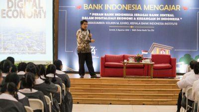 Memperbanyak Wawasan tentang Digitalisasi Ekonomi dan Keuangan Bersama Bank Indonesia